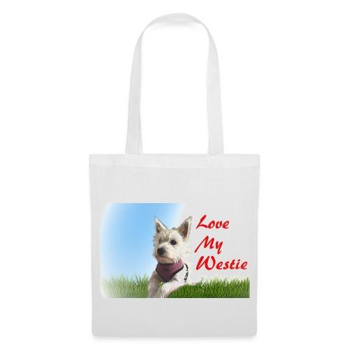 Love my westie - Tote Bag