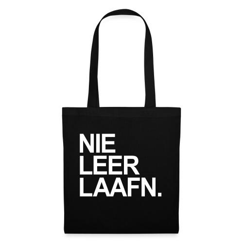 NIE LEER LAAFEN - Stoffbeutel