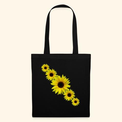 Sonnenblume, Sonnenblumen, Blumen - Stoffbeutel