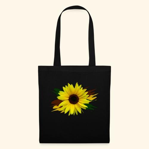 Sonnenblume, Sonnenblumen, Blume, floral, blumig - Stoffbeutel