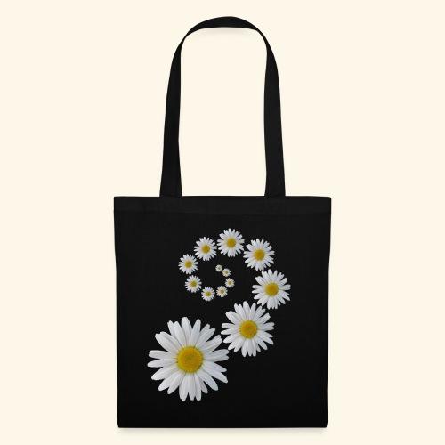 Margeriten Blume, Blumen, Blüte, floral, blumig - Stoffbeutel