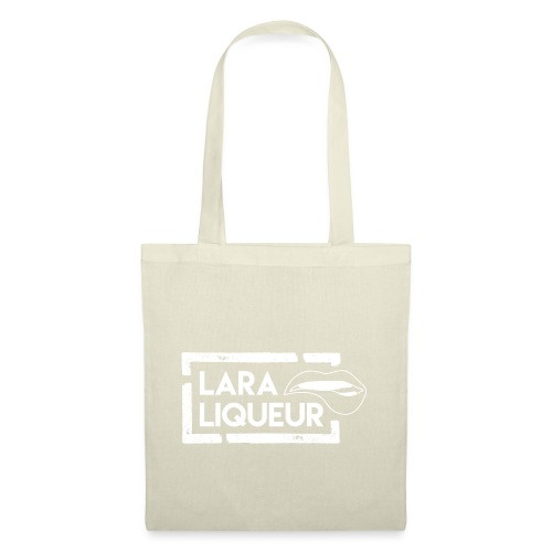 Lara Liqueur Logo invers - Stoffbeutel
