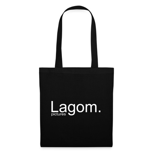 Lagom Pictures Logo Light - Tote Bag
