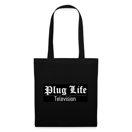 Plug Life Television Logo - Tote Bag