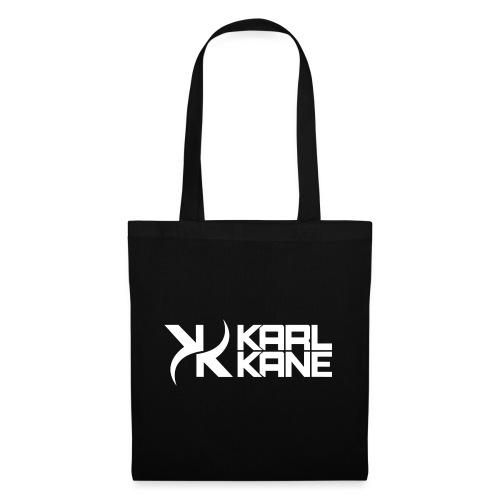 KARL KANE KK Logo Weiss - Stoffbeutel