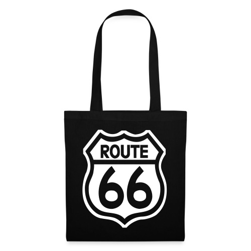 route66streched50t - Stoffbeutel