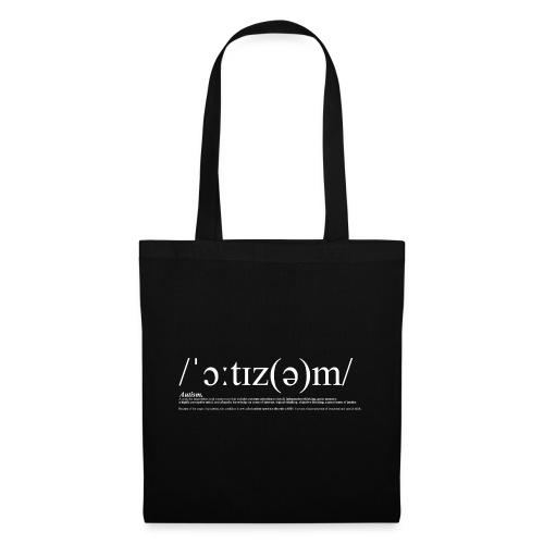AUTISM WHITE - Tote Bag