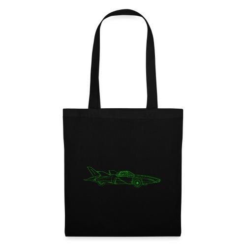 Futuristic Retro Auto - Tote Bag