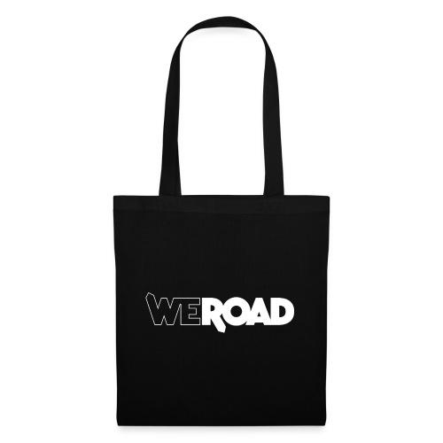 Logo WeRoad Bianco - Borsa di stoffa