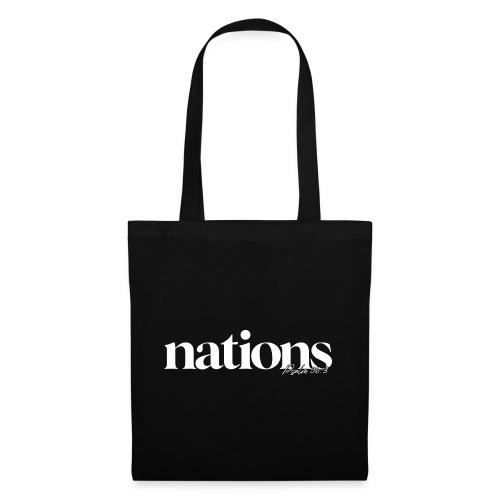 nations - Stoffbeutel