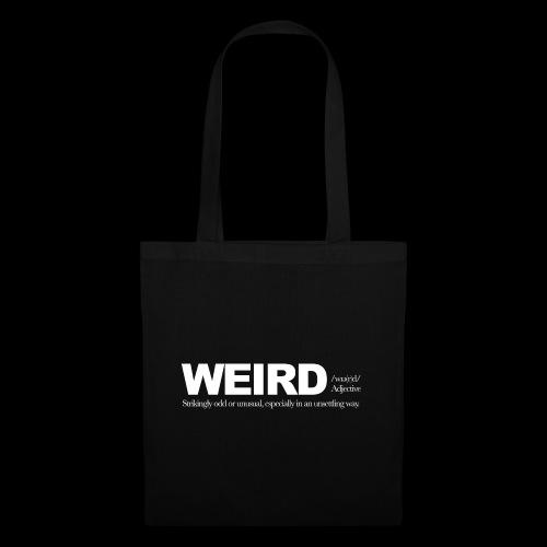 WIERD BW - Tote Bag