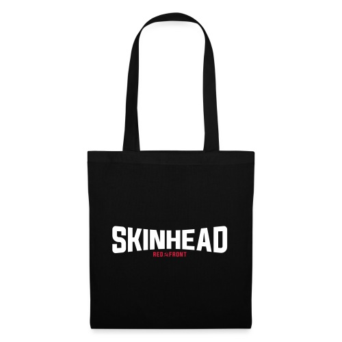Skinhead - Red Front - Tote Bag