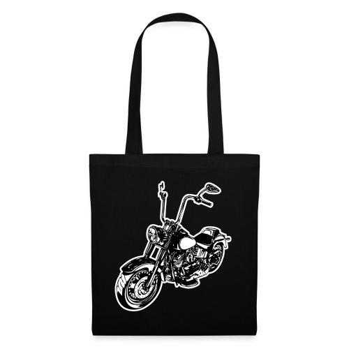 Moto Softail - Bolsa de tela