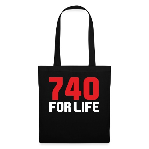 740 for life - Tygväska