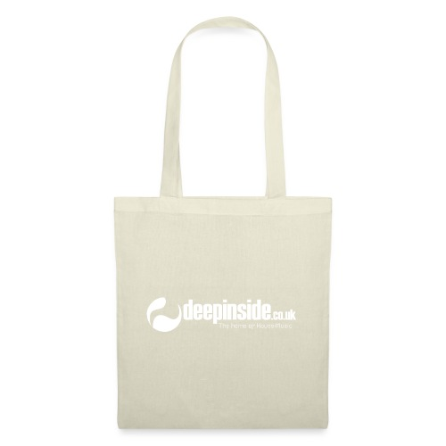 DEEPINSIDE The home of House-Music (White) - Tote Bag