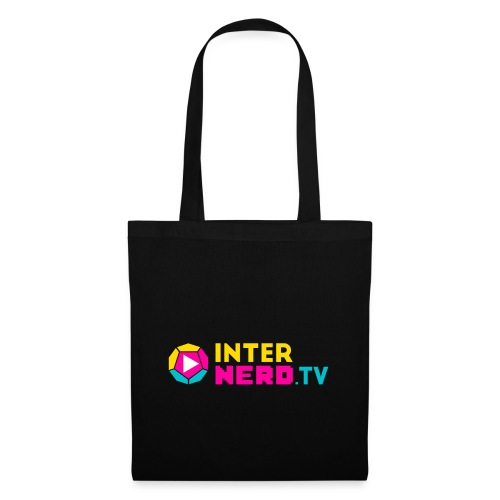 internerd.TV + Logo - Stoffbeutel