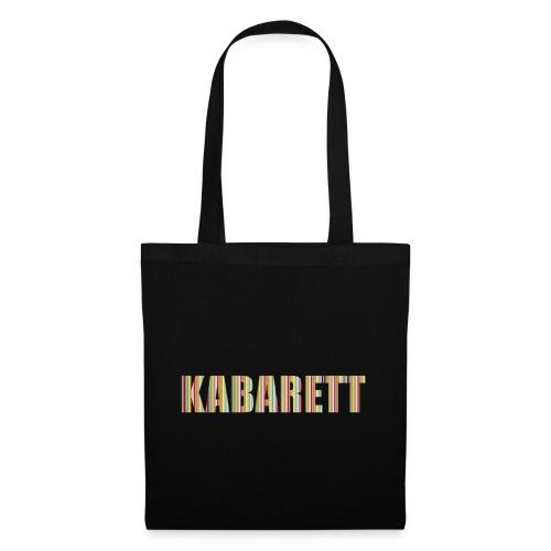 Kabarett - Stoffbeutel
