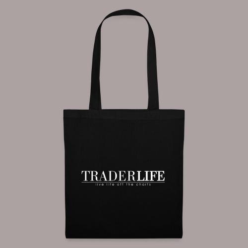 TraderLife Logo White - Tote Bag