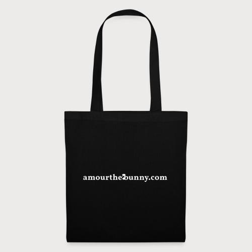 Website Adress White - Stoffbeutel
