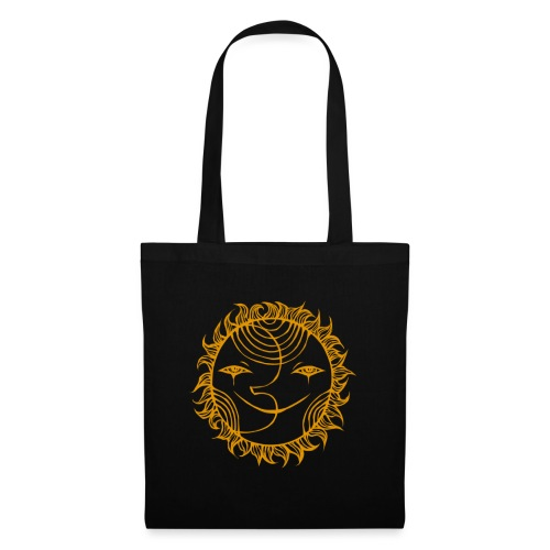 Golden Sunmoon Rising - Tote Bag