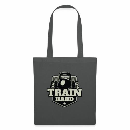 Train Hard - Stoffbeutel
