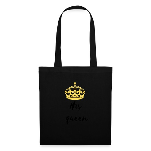 His queen - Tote Bag