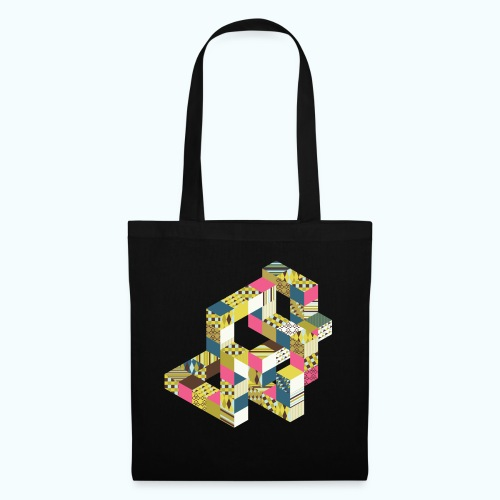 Optical illusion Bright colors - Tote Bag