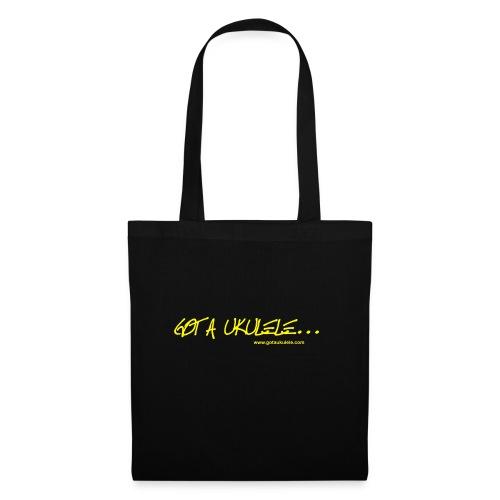 Official Got A Ukulele website t shirt design - Tote Bag