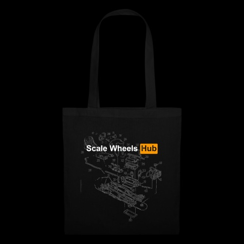 SCALE WHEELS HUB - Borsa di stoffa