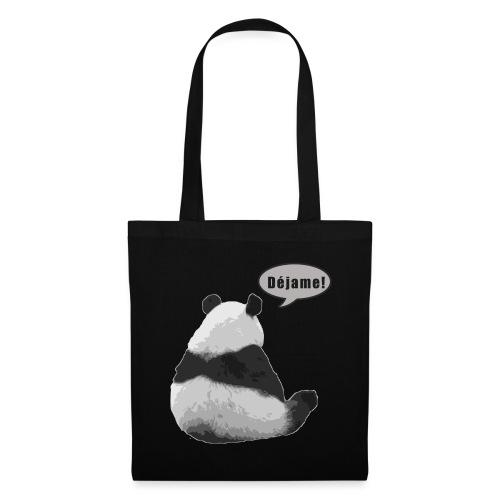 Panda Dejame - Bolsa de tela