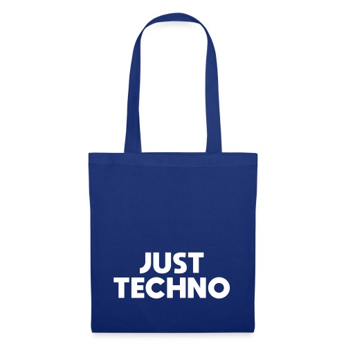 Just Techno - Stoffbeutel