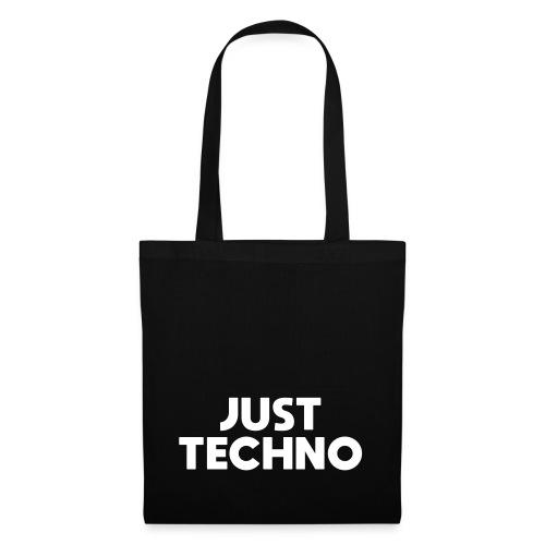 Just Techno - Stoffbeutel