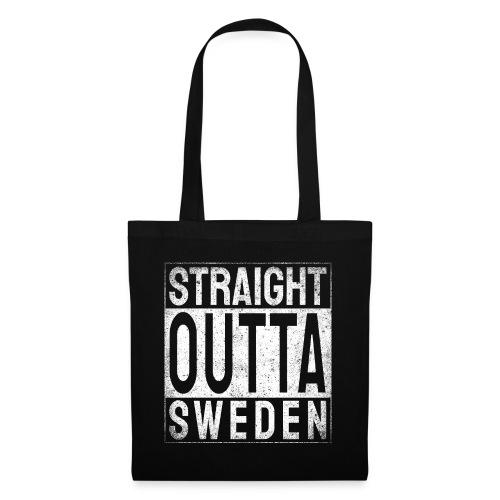 Straight Outta Sweden - Tygväska