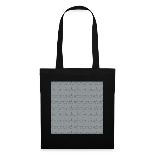 helsinki railway station pattern gray - Tote Bag