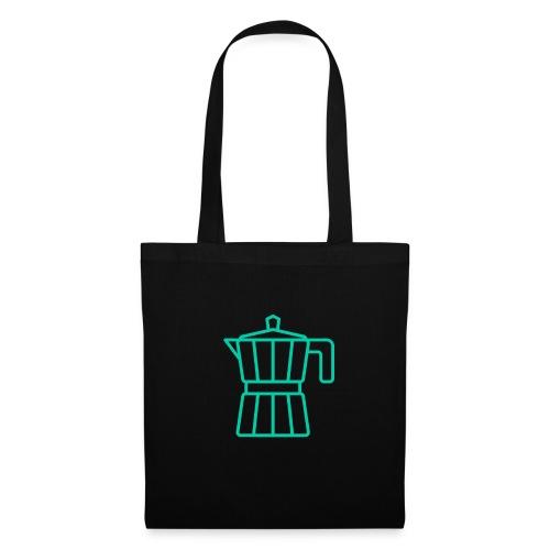 mokacoffeeappelblauwzeegroen - Tote Bag