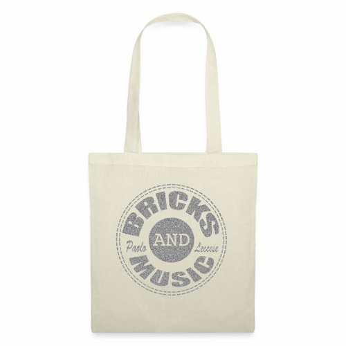 Bricks and Music - Borsa di stoffa