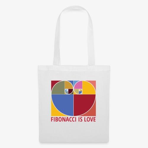 Fibonacci is love - Tote Bag