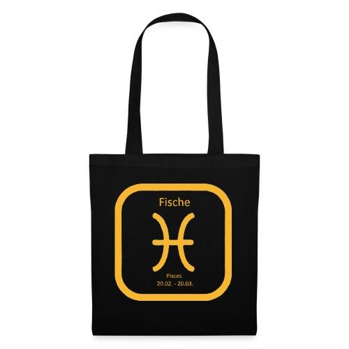 Horoskop Fische12 - Stoffbeutel