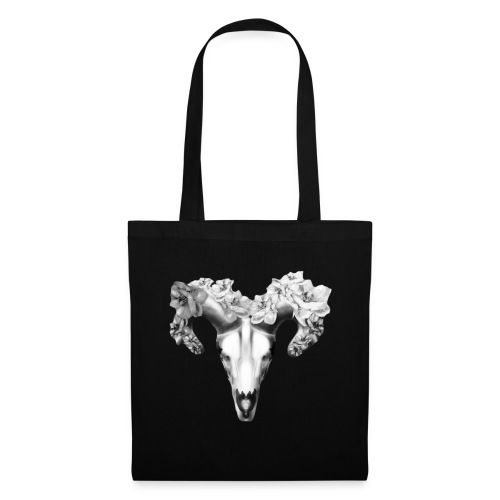 Black & White fashion skull design - Tote Bag