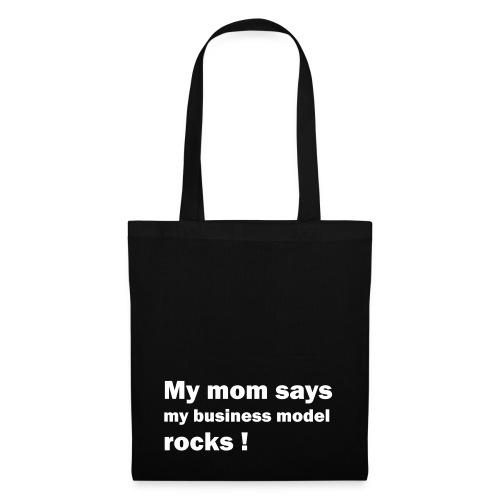 mom weiss - Stoffbeutel