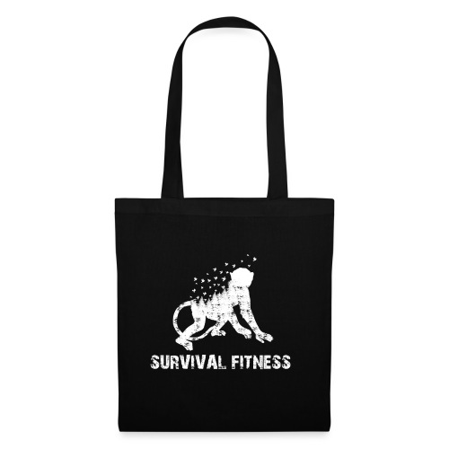 Survival Fitness Weiss - Stoffbeutel
