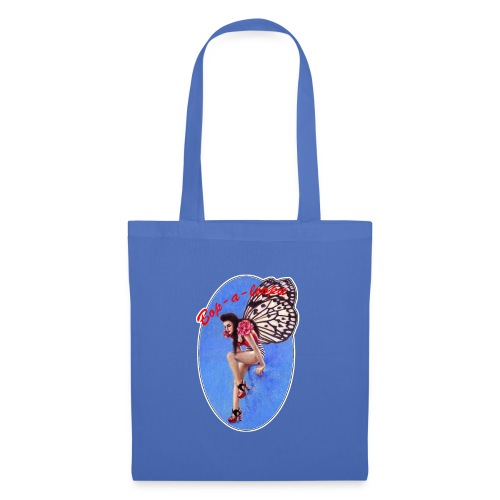 Vintage Rockabilly Butterfly Pin-up Design - Tote Bag