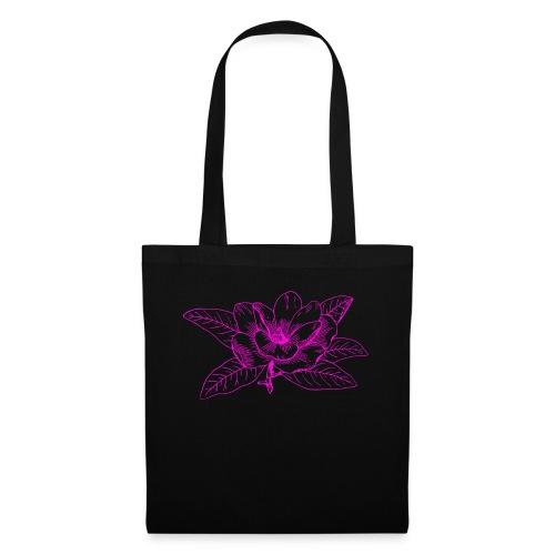 Camisetas y accesorios de flor color rosada - Bolsa de tela