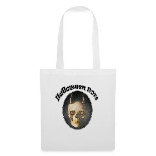 Halloween 2018 Horned Devil Skull - Tote Bag