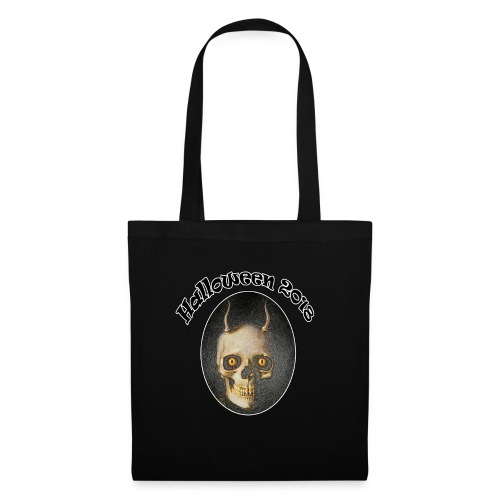Halloween 2018 Horned Devil Skull - Tote Bag