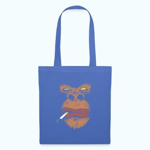 Smoking Gorilla - Mad Monkey - Angry Gorilla - Tote Bag