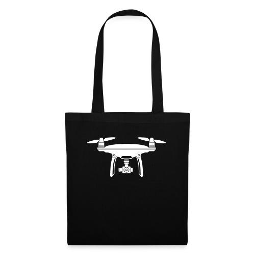 Drone Symbol Dronenpilot fliegen Technik - Stoffbeutel