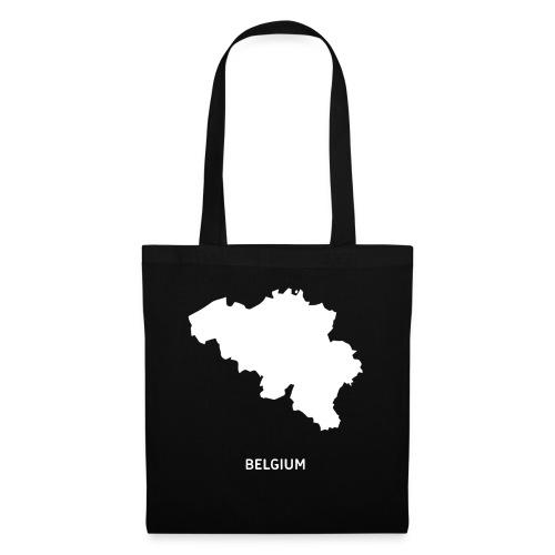 Europa Symbol Land Belgien Silhouette Staat - Stoffbeutel