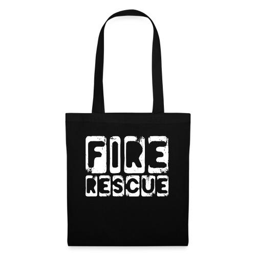 Fire Rescue Feuerrettung Feuerwehr Retter - Stoffbeutel