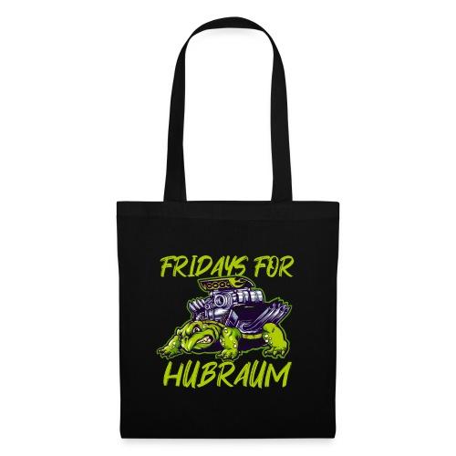 Fridays for Hubraum Auto Parodie Motor Geschenk - Stoffbeutel